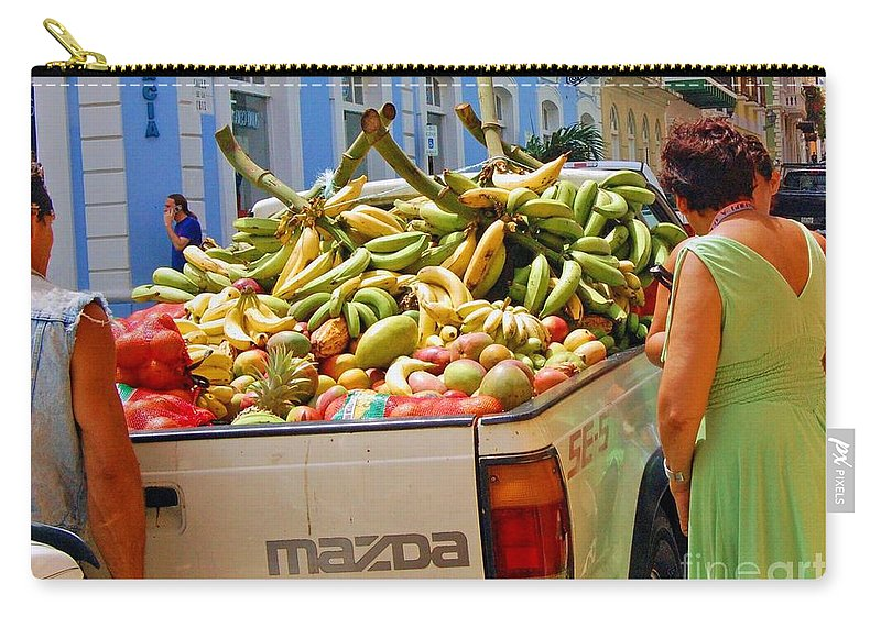 Fruit Carry-all Pouch featuring the photograph Healthy Fast Food by Debbi Granruth