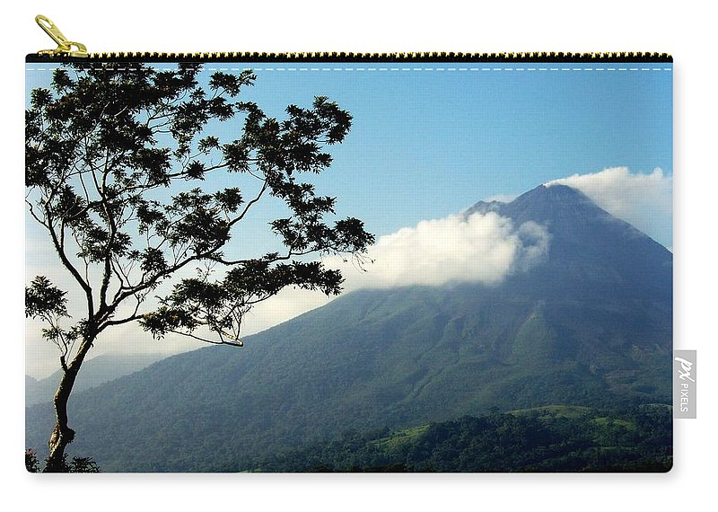 Volcanos Carry-all Pouch featuring the photograph Hear The Winds Blow by Karen Wiles