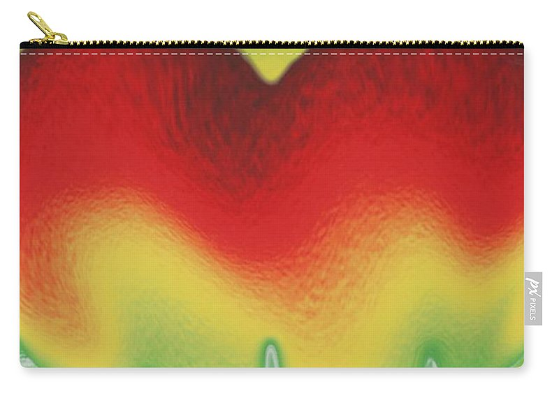 Heart Carry-all Pouch featuring the photograph Heart Beat by Rob Hans