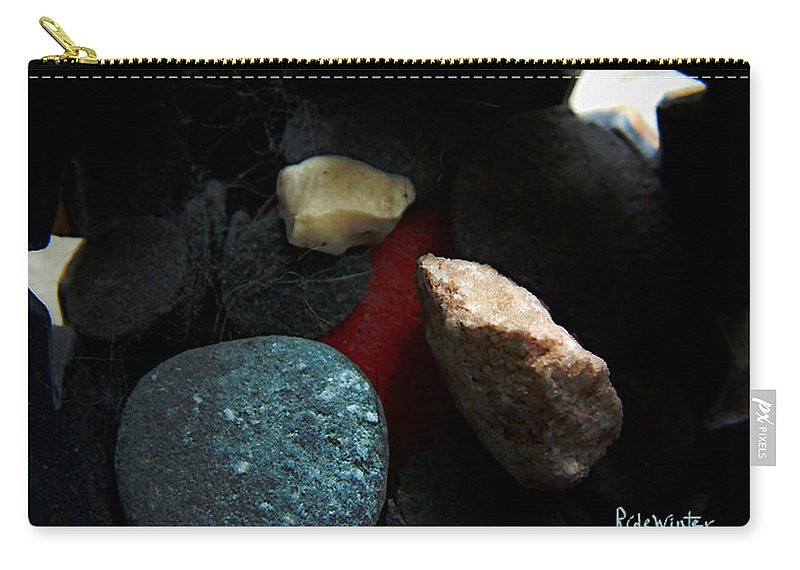 Rocks Carry-all Pouch featuring the photograph Heart Of Stone by RC DeWinter