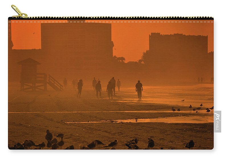 Knapko Carry-all Pouch featuring the photograph Heat Waves by John Knapko