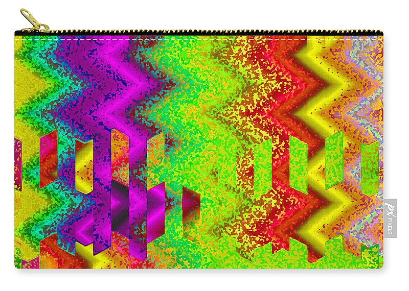 Abstract Carry-all Pouch featuring the digital art Heaven by Ruth Palmer