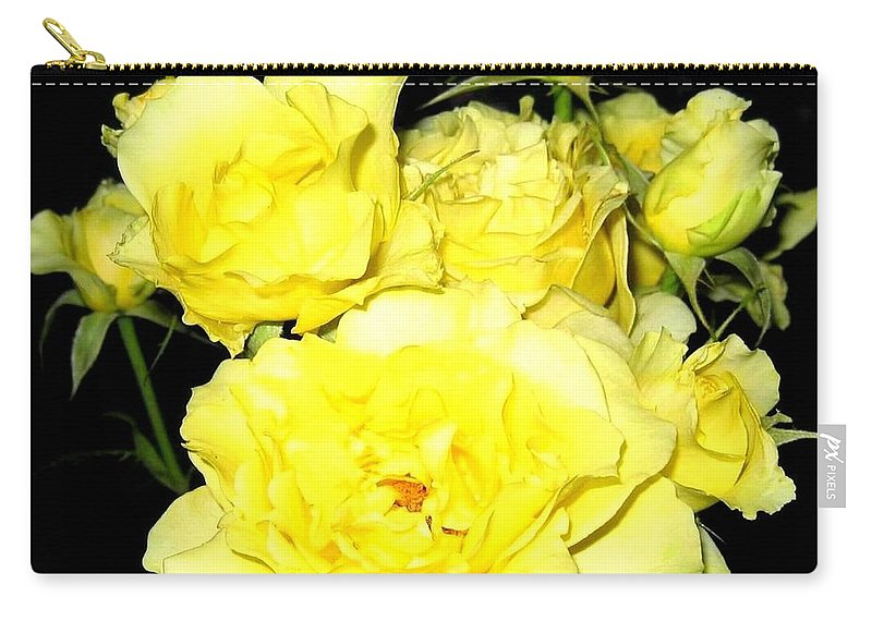 Roses Carry-all Pouch featuring the photograph Heaven Scent by Will Borden