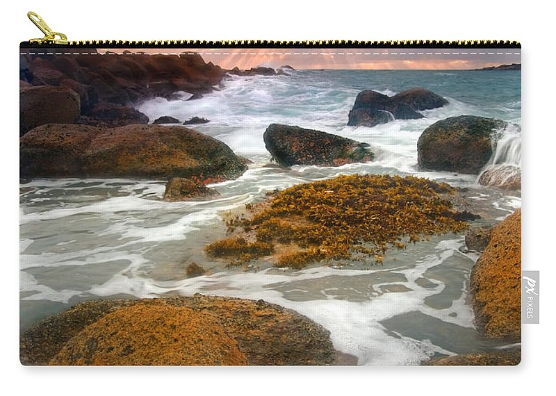 Sunrise Carry-all Pouch featuring the photograph Heavenly Dawning by Mike Dawson