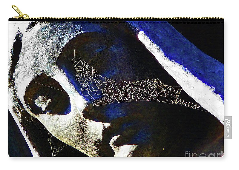 Heaven Carry-all Pouch featuring the photograph Heavenly Designs by Xueling Zou