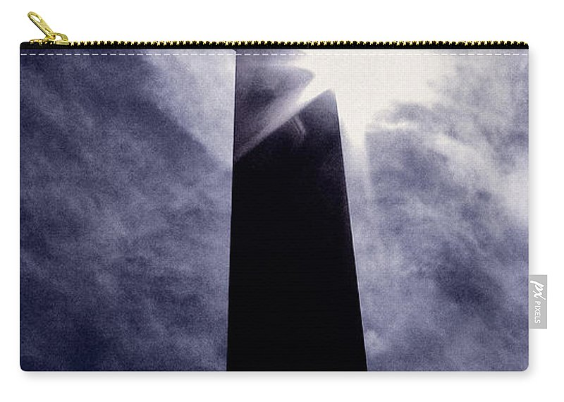 Cemetery Carry-all Pouch featuring the photograph Heavenly Eclipse by Scott Wyatt