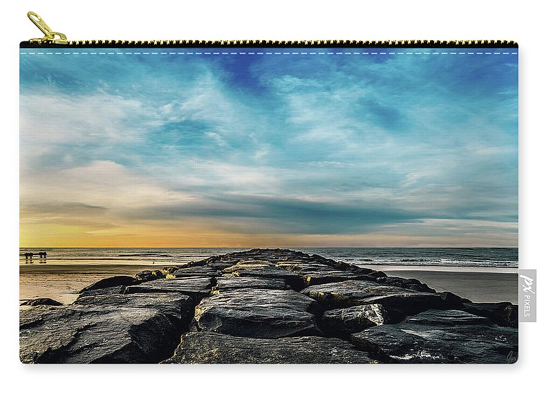 J. Zaring Carry-all Pouch featuring the photograph Heavenly Jetty by Joshua Zaring