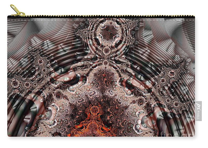 Door Carry-all Pouch featuring the digital art Heavens Door by Ron Bissett