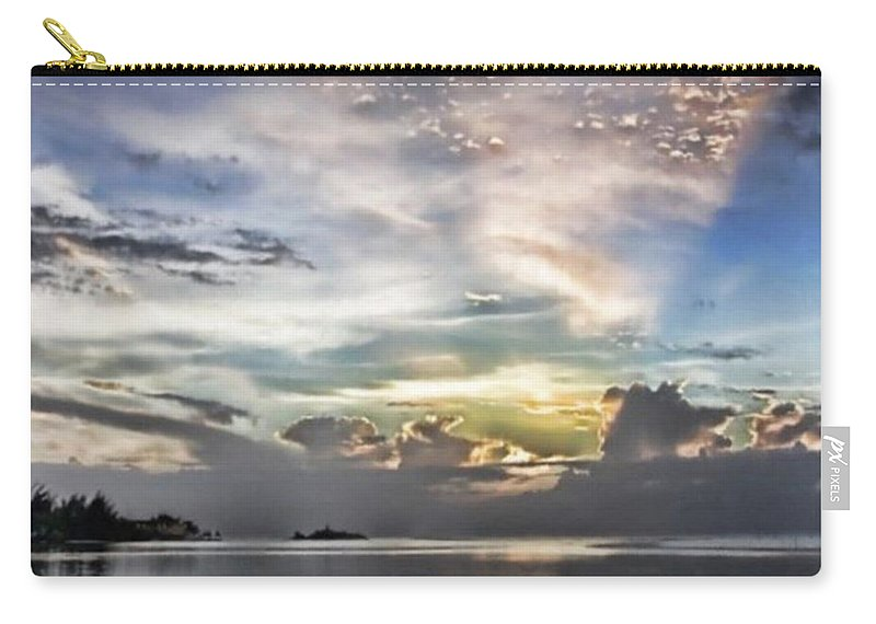 Jamaica Carry-all Pouch featuring the photograph Heaven's Light - Coyaba, Ironshore by John Edwards