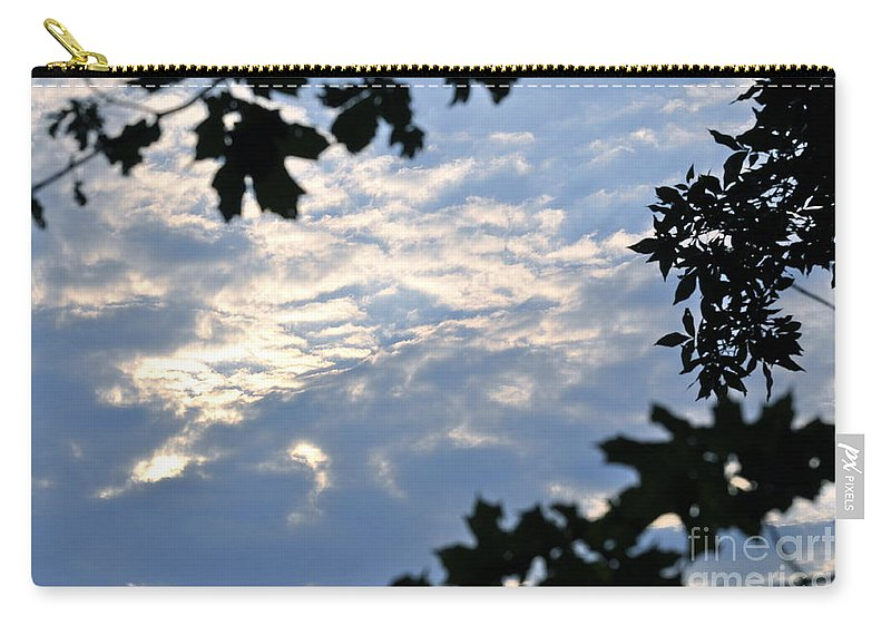 Sunshine Carry-all Pouch featuring the photograph Heaven's Portal by Penny Neimiller
