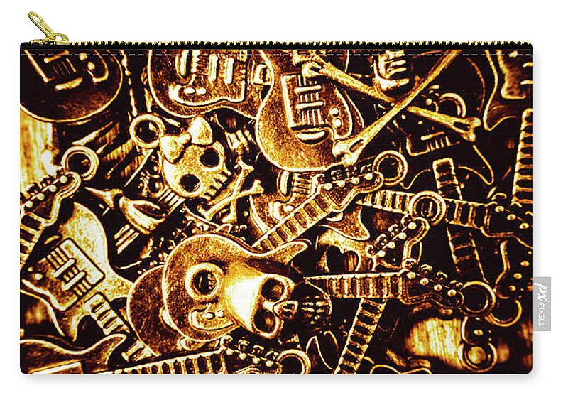 Metal Carry-all Pouch featuring the photograph Heavy Metal Mix by Jorgo Photography - Wall Art Gallery