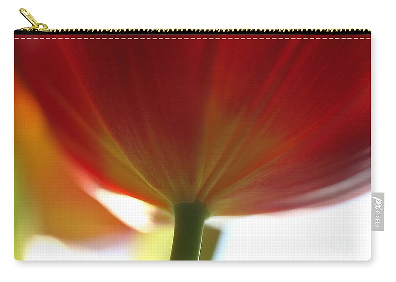 Tulip Carry-all Pouch featuring the photograph Help Is Here by Amanda Barcon