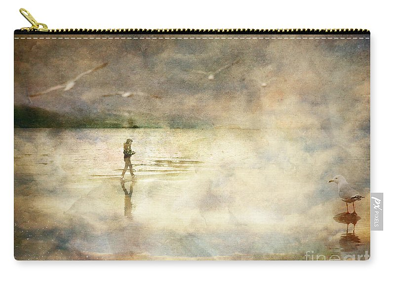 Birds Carry-all Pouch featuring the photograph Helpless by Tara Turner