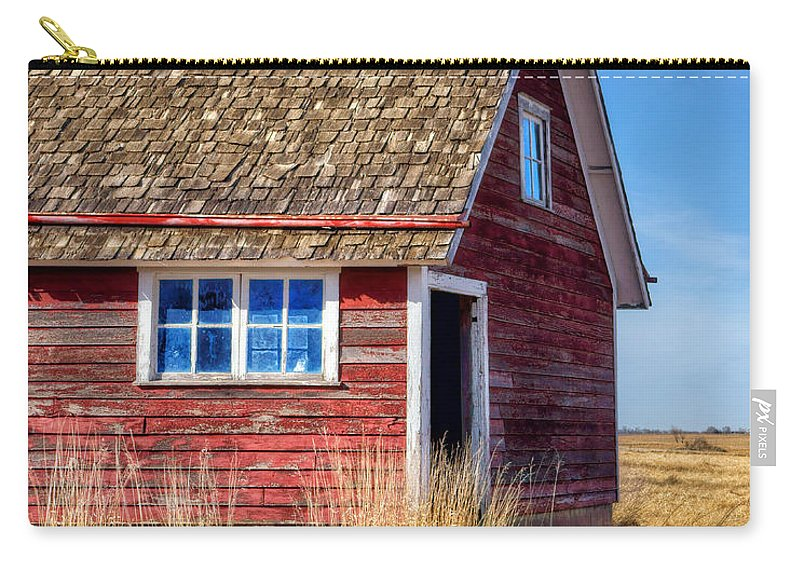 Chicken Coop Carry-all Pouch featuring the photograph Hen House -1 by Nikolyn McDonald