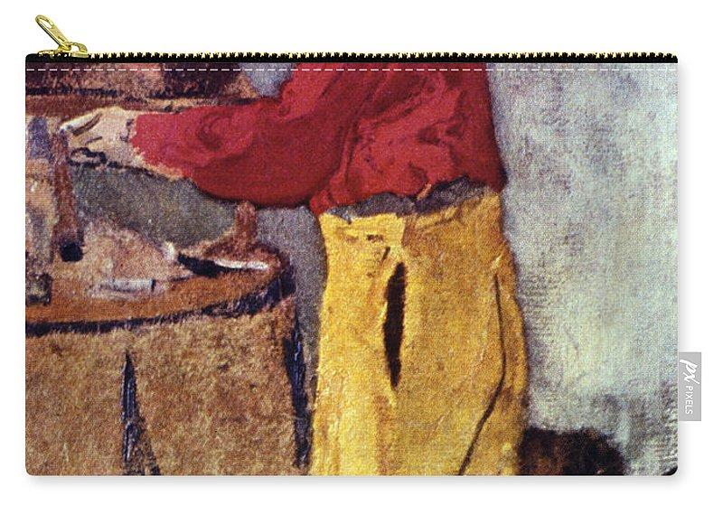 19th Century Carry-all Pouch featuring the photograph Henri De Toulouse-lautrec by Granger