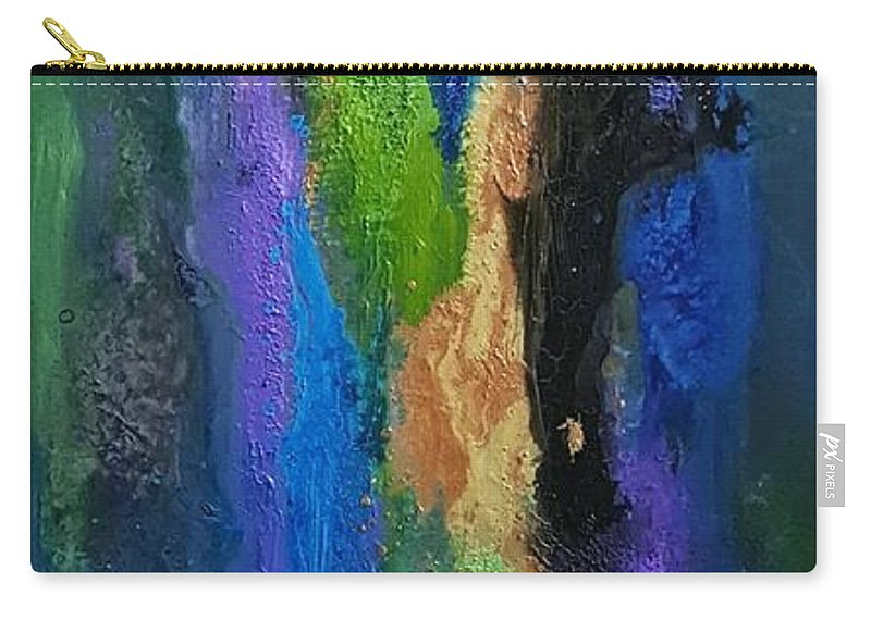 Carry-all Pouch featuring the painting Hera by Rosemary Hadeed