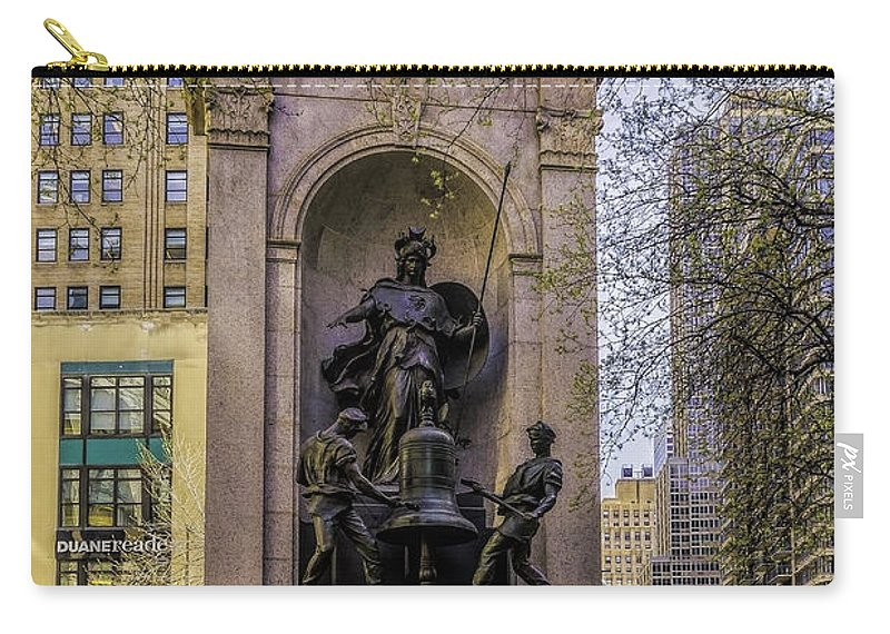 City Carry-all Pouch featuring the photograph Herald Square - Nyc by Nick Zelinsky