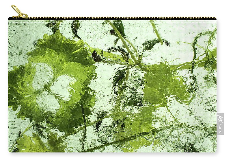 Air Carry-all Pouch featuring the photograph Herbs by Jarmo Honkanen