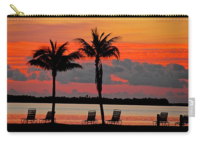 Carry-all Pouch featuring the photograph Here Comes The Sun by Bill Jordan