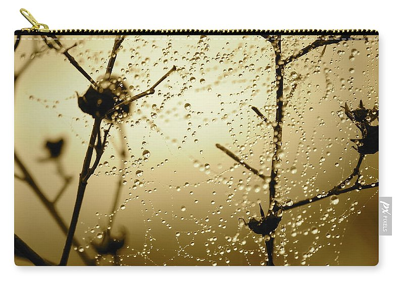 Sunrise Carry-all Pouch featuring the photograph Here Comes The Sun by Carol Groenen