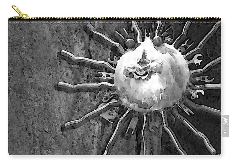 Sun Carry-all Pouch featuring the photograph Here Comes The Sun by Debbi Granruth