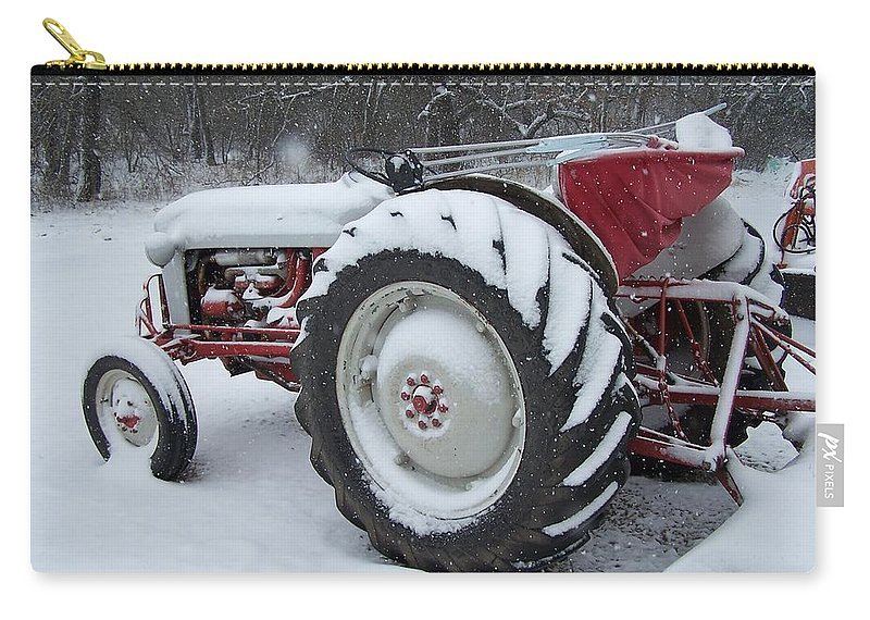 Tractor Carry-all Pouch featuring the photograph Herman by Gale Cochran-Smith