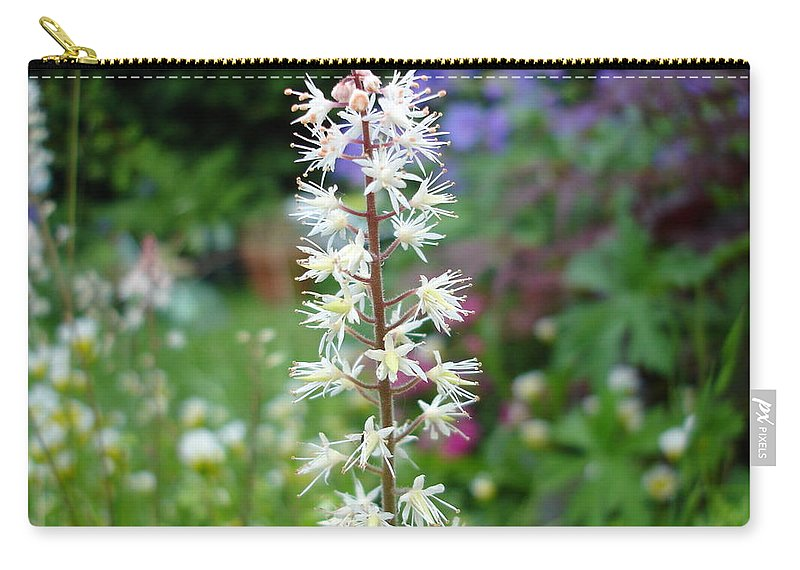 Flower Carry-all Pouch featuring the photograph Heucharella - Fairy Bells by Susan Baker