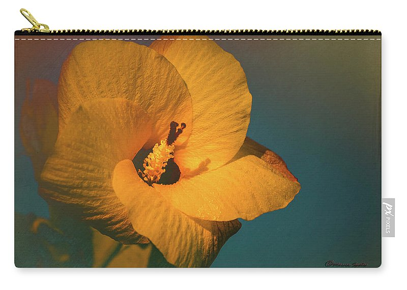 Hibiscus Carry-all Pouch featuring the photograph Hibiscus by Marvin Spates