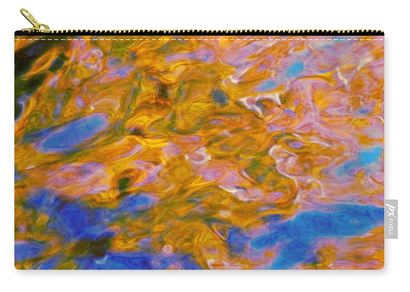 Water Art Carry-all Pouch featuring the photograph Hidden Dimensions by Sybil Staples