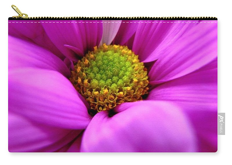 Flower Carry-all Pouch featuring the photograph Hidden Inside by Rhonda Barrett