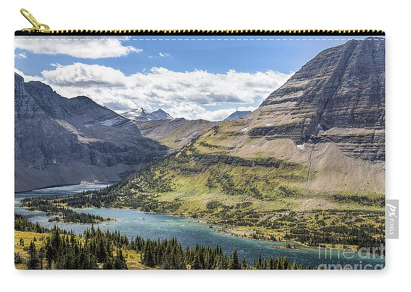 Hidden Lake Overlook Carry-all Pouch featuring the photograph Hidden Lake Overlook by Jemmy Archer