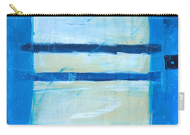 Abstract Carry-all Pouch featuring the painting Hidden Moon by Tim Nyberg