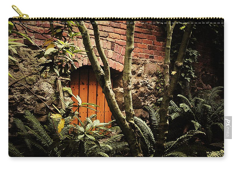 Brick Carry-all Pouch featuring the photograph Hidden Passage by Tim Nyberg