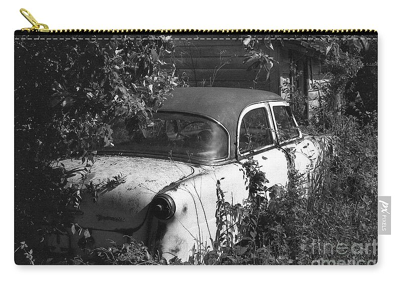 Abandoned Carry-all Pouch featuring the photograph Hidden Treasure by Richard Rizzo