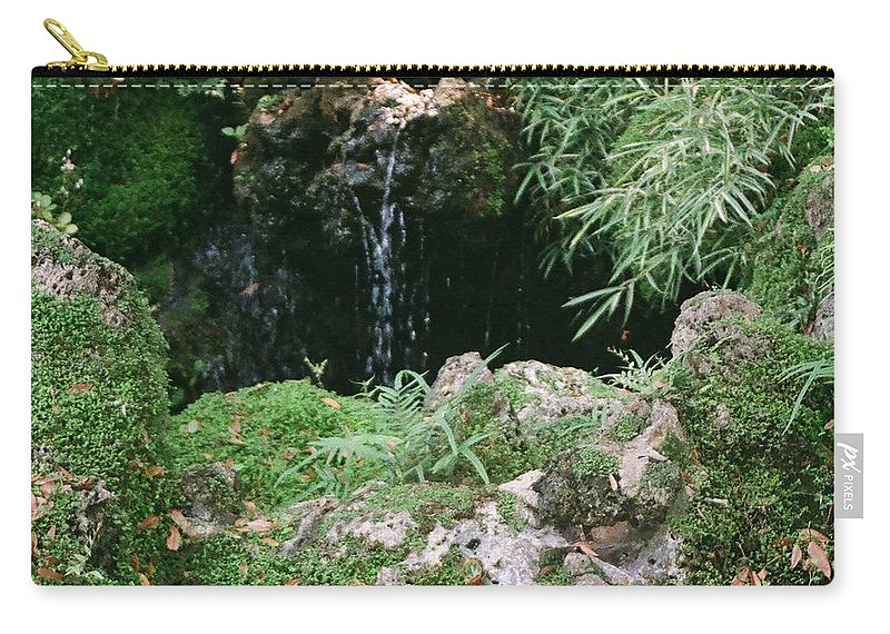 Nature Carry-all Pouch featuring the photograph Hidden Waterfall by Dean Triolo