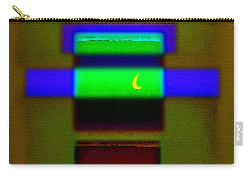 Rothko Carry-all Pouch featuring the painting Hieroglyphic by Charles Stuart