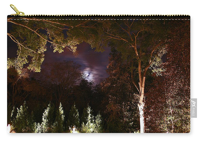 Night Carry-all Pouch featuring the photograph Higdon House Inn by David Campbell