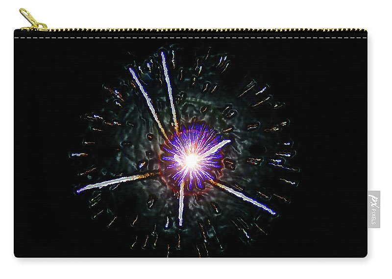 Cern Carry-all Pouch featuring the painting Higgs Boson by David Lee Thompson