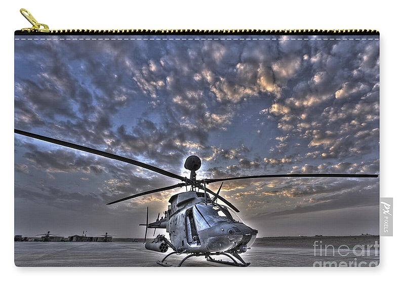Aviation Carry-all Pouch featuring the photograph High Dynamic Range Image by Terry Moore