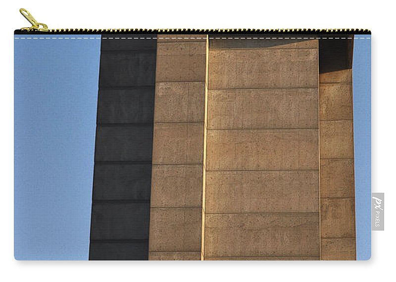 Building Carry-all Pouch featuring the photograph High Rise by Tim Nyberg