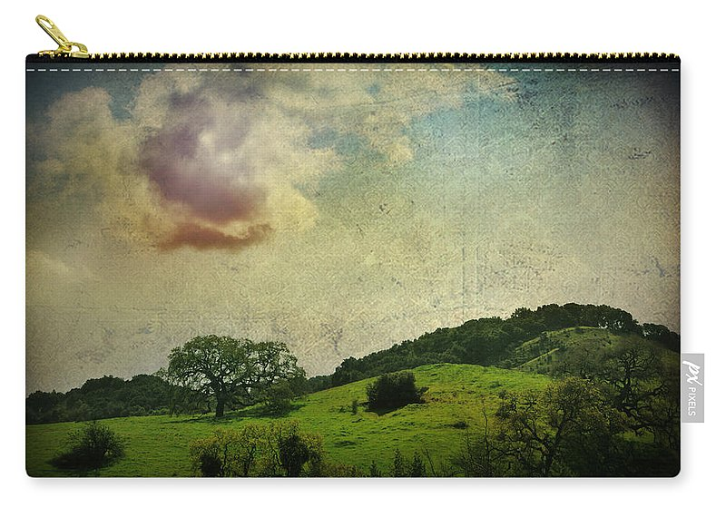 Landscape Carry-all Pouch featuring the photograph Higher Love by Laurie Search
