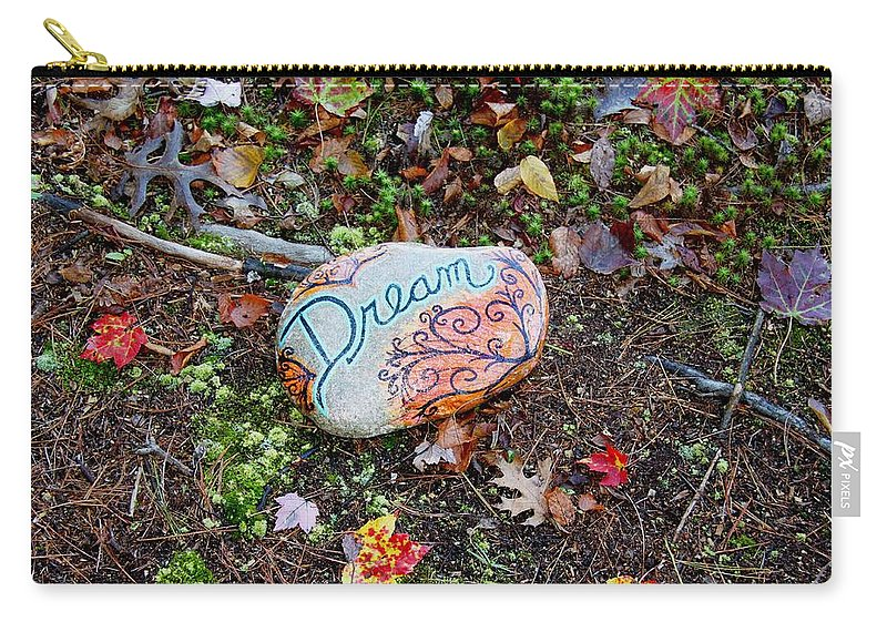 Carry-all Pouch featuring the photograph Hiking Dreams by Kathy Partak