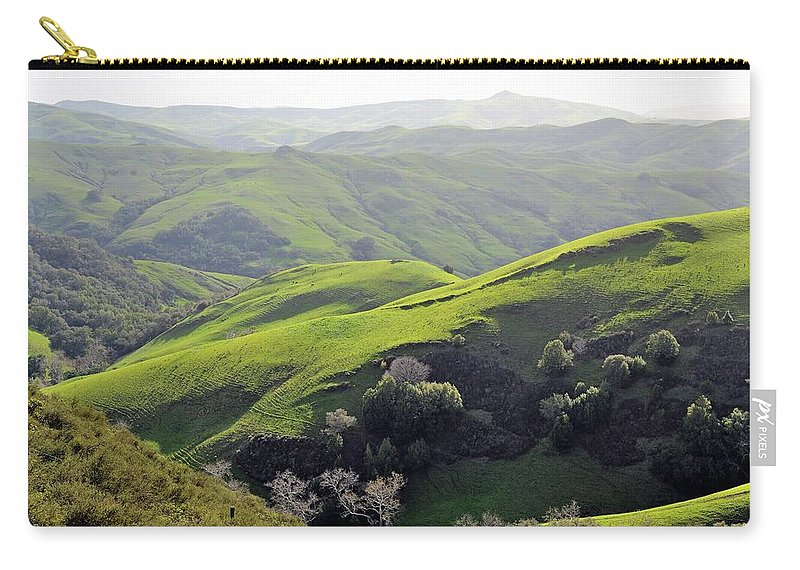 Hills Carry-all Pouch featuring the photograph Hills by Michael Brown