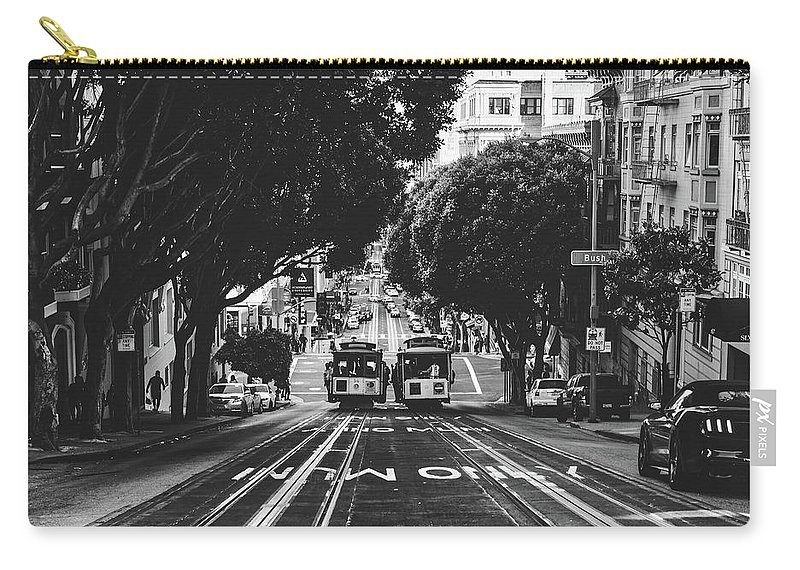 San Francisco Carry-all Pouch featuring the photograph Hills Of San Francisco by Unsplash