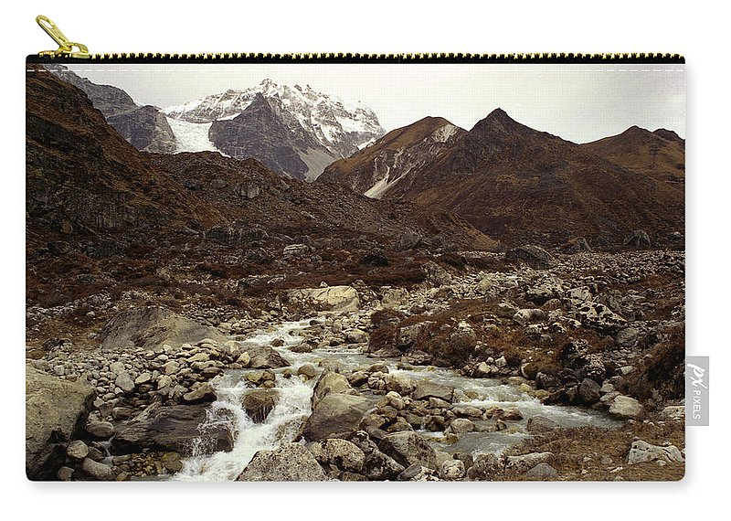 Himalaya Carry-all Pouch featuring the photograph Himalaya by Patrick Klauss
