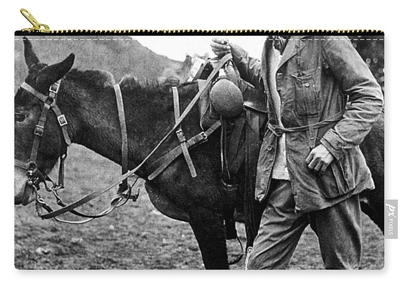 1911 Carry-all Pouch featuring the photograph Hiram Bingham (1875-1956) by Granger
