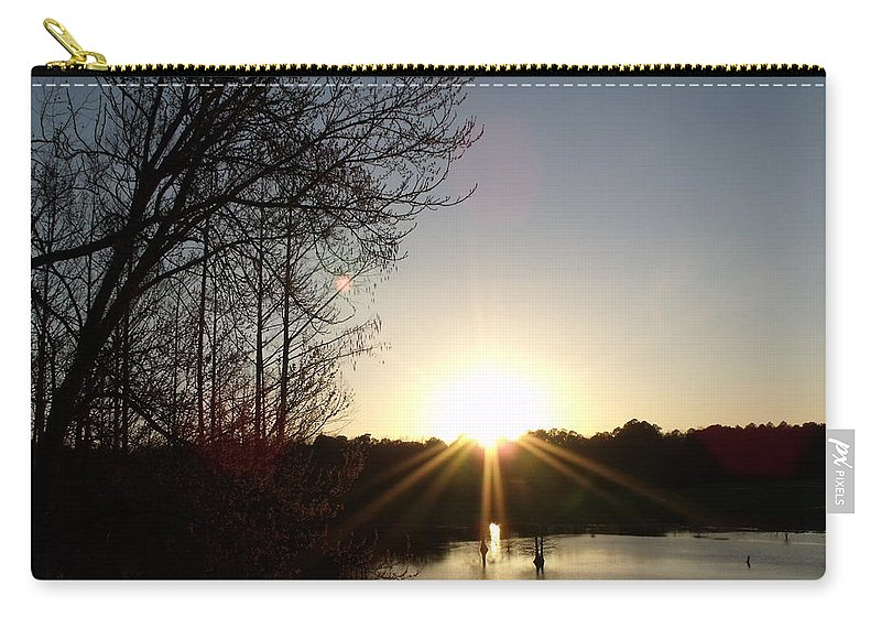 Sunset Carry-all Pouch featuring the photograph His Awesome Wonders by Steve Cochran