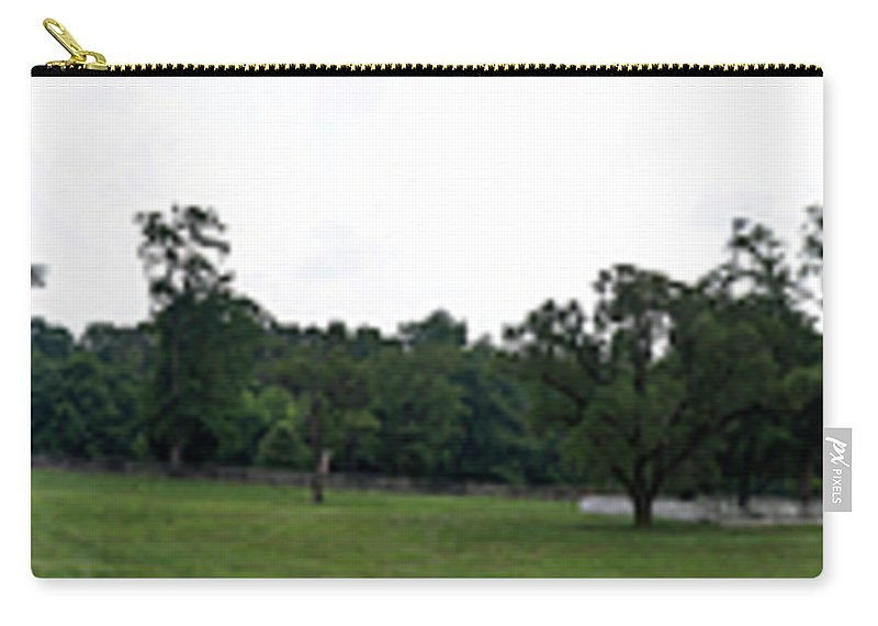 Appomattox Carry-all Pouch featuring the photograph Historic Appomattox Panorama by Teresa Mucha