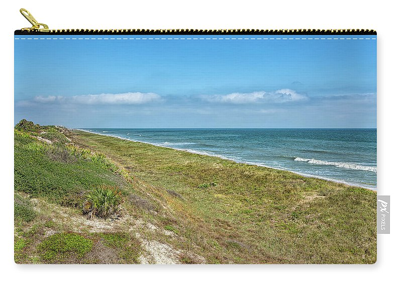 Beach Carry-all Pouch featuring the photograph Historic Coast by John M Bailey