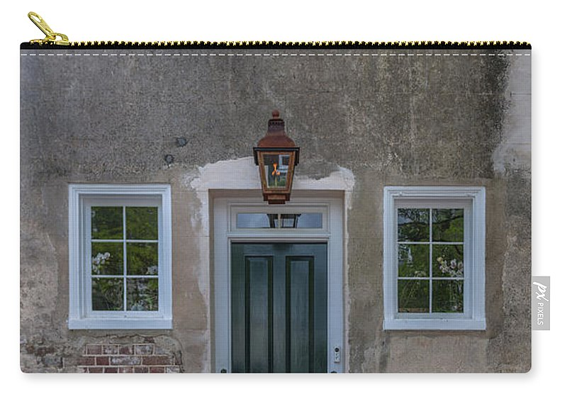 Entrance Carry-all Pouch featuring the photograph Historic Downtown Charleston Entrance by Dale Powell